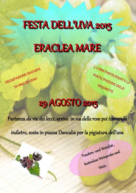 Festa dell'uva 2015